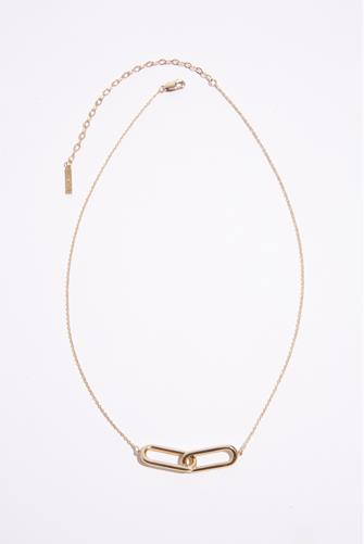 Lumos Center Link Necklace GOLD