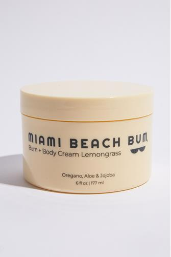 Lemongrass Bum + Body Cream 6 oz. PEACH