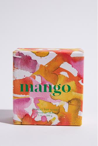 Summer Fruits Mango Bar Soap ORANGE