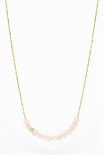 Pink Sprinkle Of Love Necklace PINK