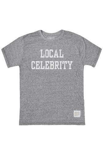 Local Celebrity Graphic Tee GREY