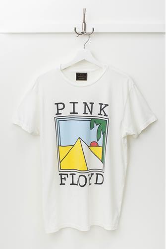 Pink Floyd Pyramid Graphic Tee OFF WHITE