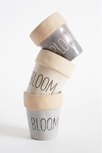 Bloom Mini Pot 3 Piece Set MULTI