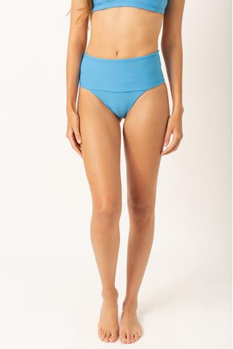 Cornflower Eco Chic Repreve Desi Bikini Bottom BLUE