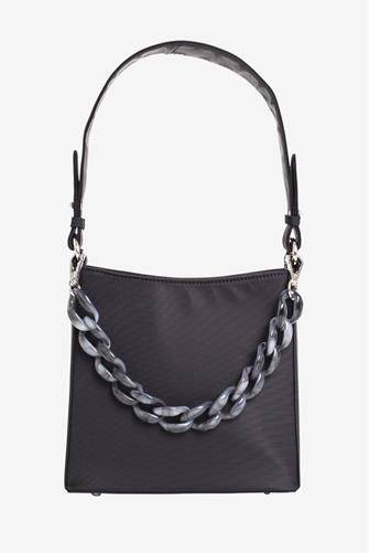 Black Amble Soft Crossbody Tote Bag BLACK