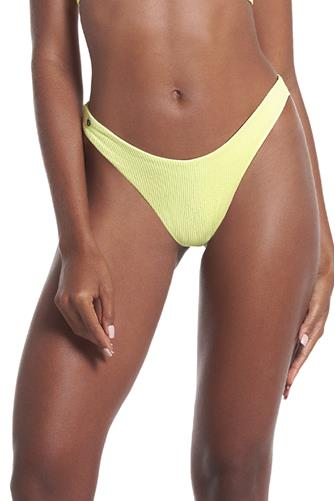 Butter Yellow Splendour Hipster Reversible Bikini Bottom YELLOW