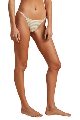 Billabong x The Salty Blonde Meet Your Matcha Isla Hipster Bikini Bottom GREEN MULTI -