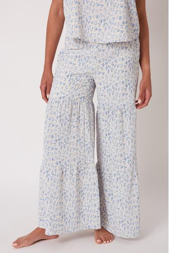 Clement Floral Pant WHITE MULTI -