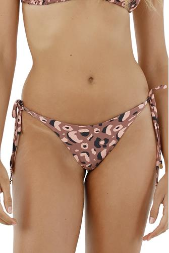Dark Africa Mia Dolly Tie Side Bikini Bottom MULTI