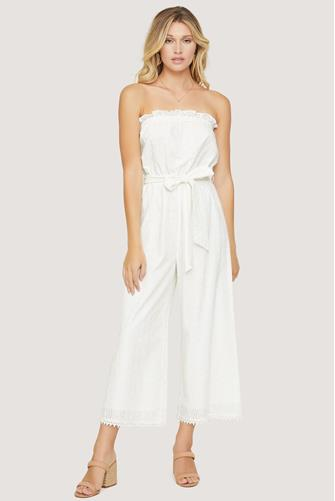 Middle Of Nowhere Jumpsuit WHITE