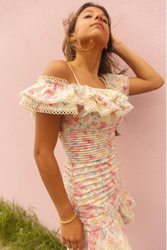 Pink Multi Una Dress PINK MULTI -
