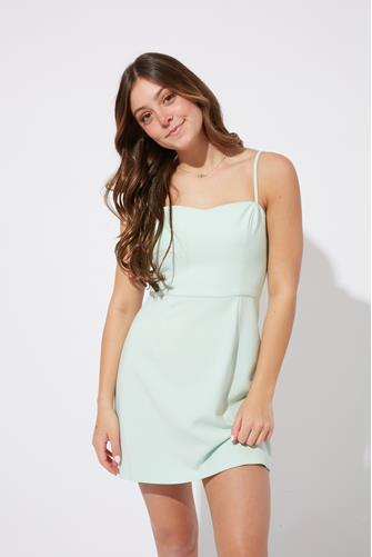 Mint Green Whisper Light Sweetheart Dress MINT GREEN