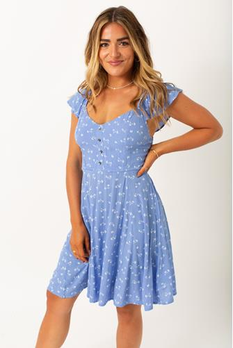 Forever Yours Mini Dress BLUE