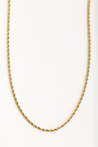 Joelle Rope Chain Necklace GOLD