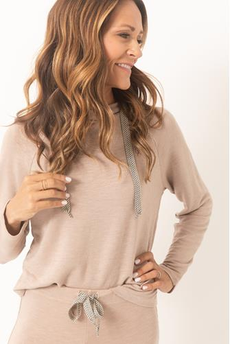Pullover Hoodie TAUPE