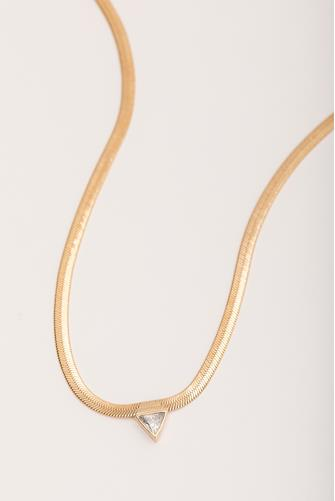 High Point Necklace GOLD
