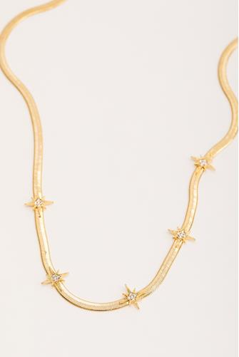 Five Star Necklace GOLD