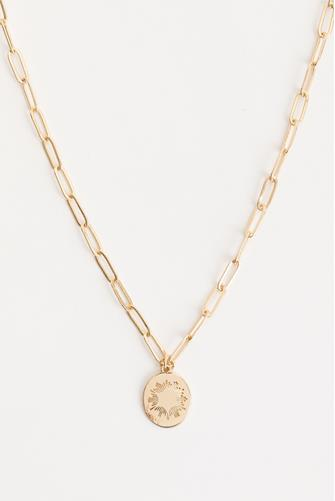Paperclip Star Necklace GOLD