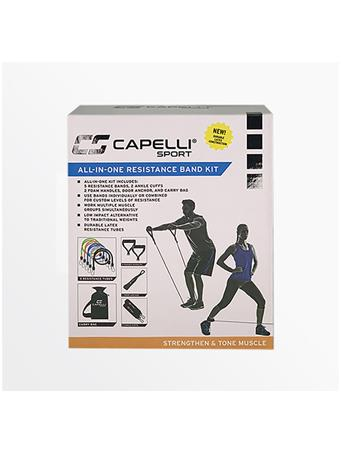 CAPELLI - All-In-One 10Pc. Resistance Band Kit MULTI