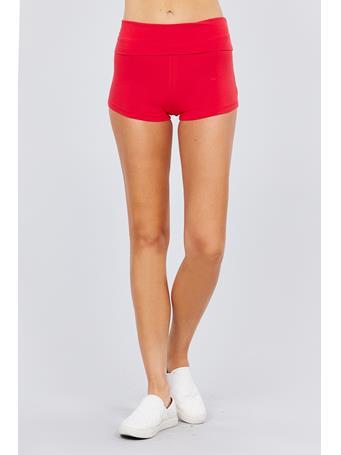 ACTIVE BASIC - Short Yoga Short RED