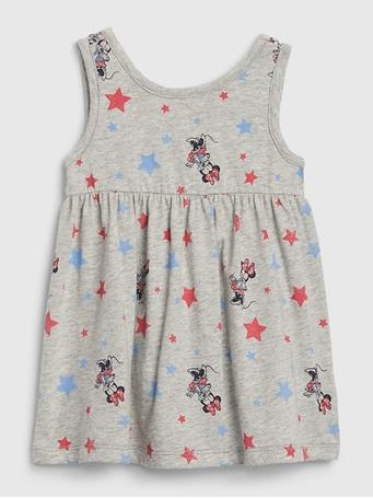 GAP -  Baby GAP Disney Summer Dress LT HTHR GREY
