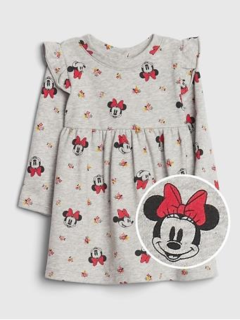 GAP - Baby GAP Disney Ruffle Dress LT HEATHER GREY