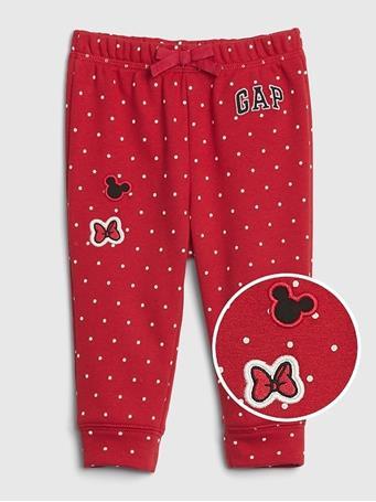 GAP - BabyGap Logo Disney Pull-on Arch Pant MODERN RED
