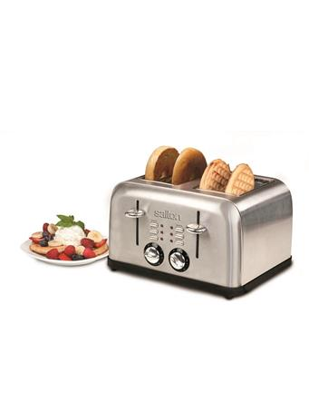 SALTON - Stainless Steel 4 Slice Toaster  No Color