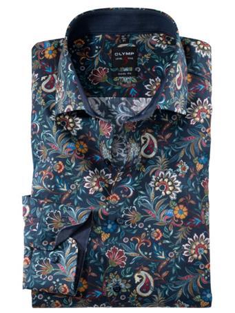 OLYMP - Long Sleeve Dress Shirt Royal Kent NAVY