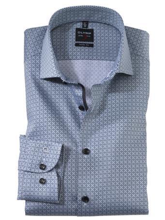 OLYMP - Long Sleeve Dress Shirt Royal Kent BLACK
