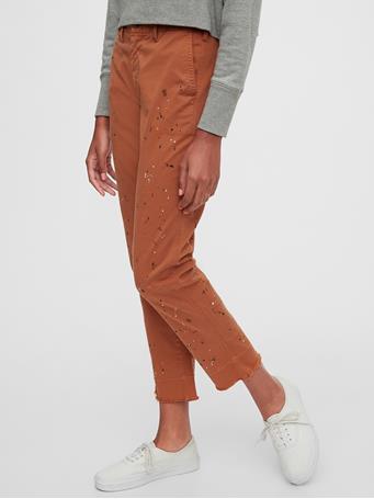 GAP - Straight Leg Khakis COPPER