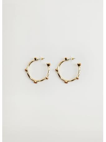 MANGO - Jessicas Hoop Earrings GOLD