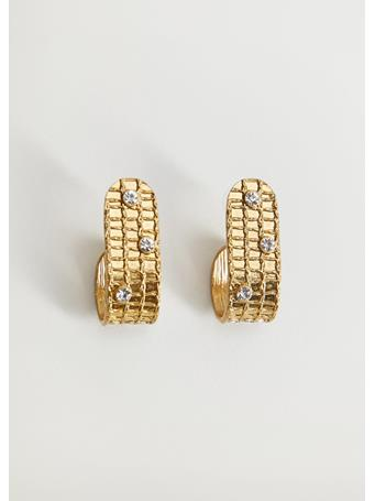 MANGO - Isla Earrings GOLD