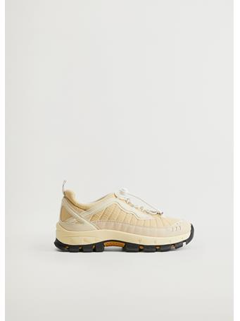 MANGO - Diya Sport Sneakers NATURAL WHITE