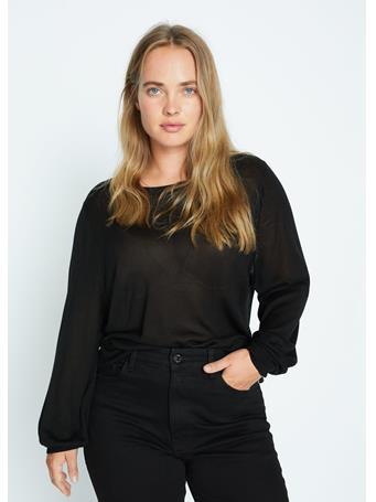 Violeta by MANGO - Wey Knit Sweater BLACK