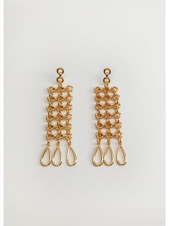 MANGO - Ramona Chain Earrings GOLD