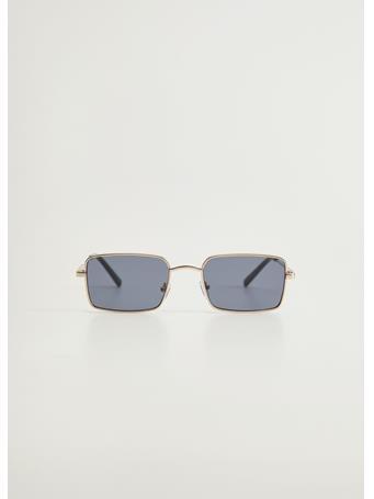 MANGO - Penny Squared Sunglasses GOLD