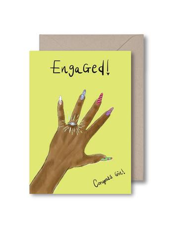 KITSCH NOIR - Engaged Card NO COLOR