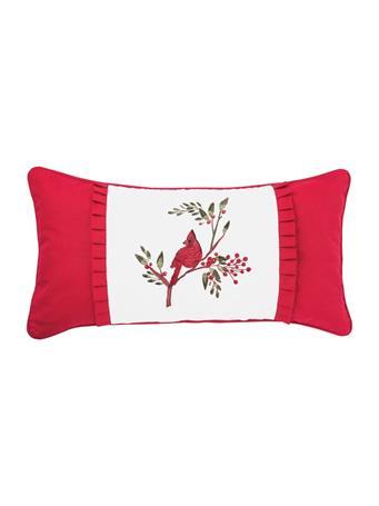 C&F - Cardinal Decorative Pillow RED