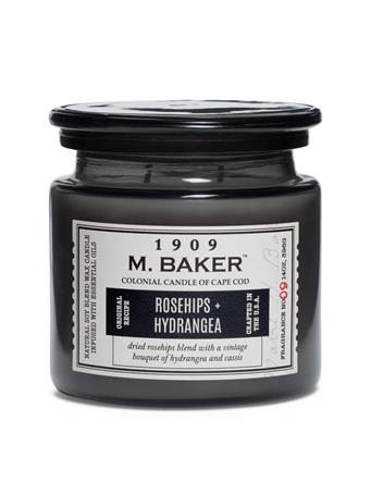 M.BAKER - Rosehips & Hydrangea Scented Candle No Color