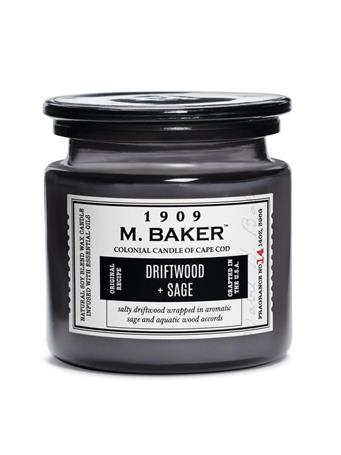 M.BAKER - Driftwood & Sage Scented Candle No Color