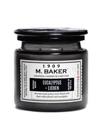 M.BAKER -  Eucalyptus & Lichen Scented Candle No Color