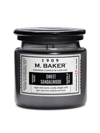 M.BAKER - Sweet Sandalwood Scented Candle No Color