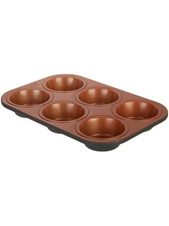IKO - 6 Cup Copper Muffin Pan COPPER