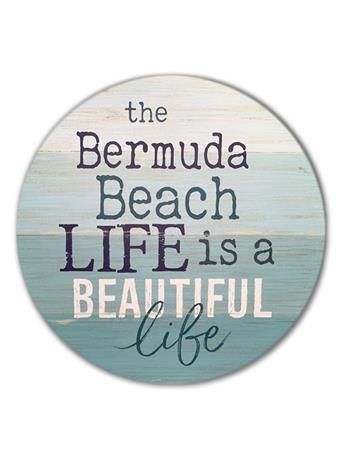 Bermuda Beach Life Sign No Color