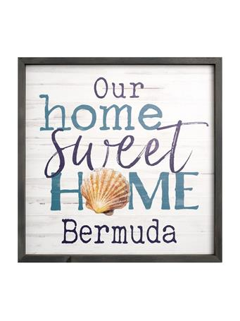 Bermuda Home Sweet Home Sign No Color