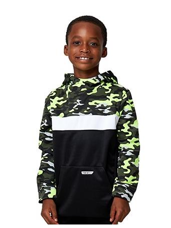 HIND - Camo Pullover Hoodie BLACK