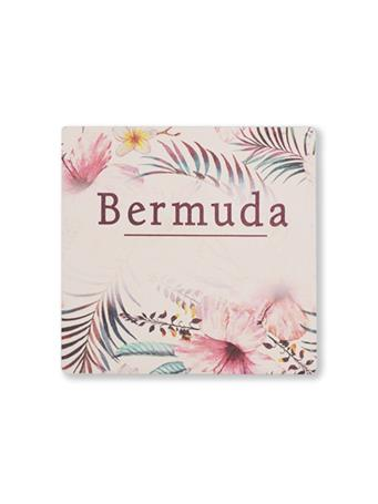 Bermuda Flowers Coaster No Color