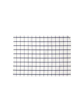 HOME ESSENTIALS - Versatile Table Linen/Tea Towel - Plaid BLUE