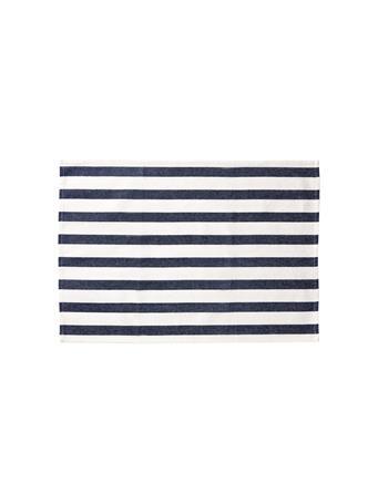 HOME ESSENTIALS - Versatile Table Linen/Tea Towel - Awning Stripe BLUE